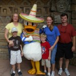 pato donald family